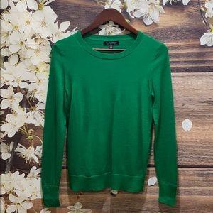 BANANA REPUBLIC (Green) Crewneck Wool Sweater